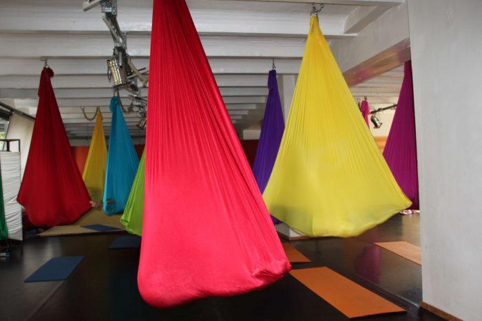 Aerial Yoga Tuch Studio